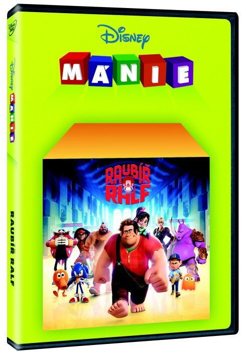 Raubíř Ralf (DVD) - Edice Disney mánie