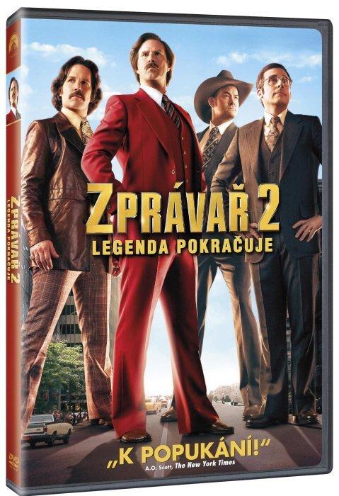 Zprávař 2 - Legenda pokračuje (DVD)