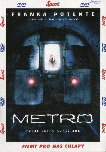 Metro (DVD) (papírový obal)