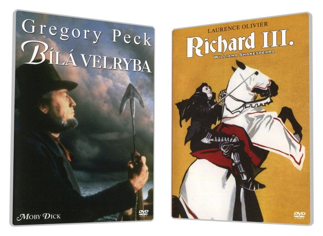 Bílá velryba / Richard III. - kolekce (2 DVD)