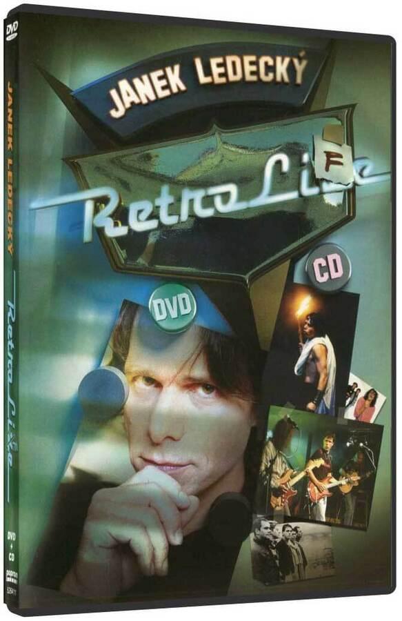Janek Ledecký - Retro Live DVD + CD