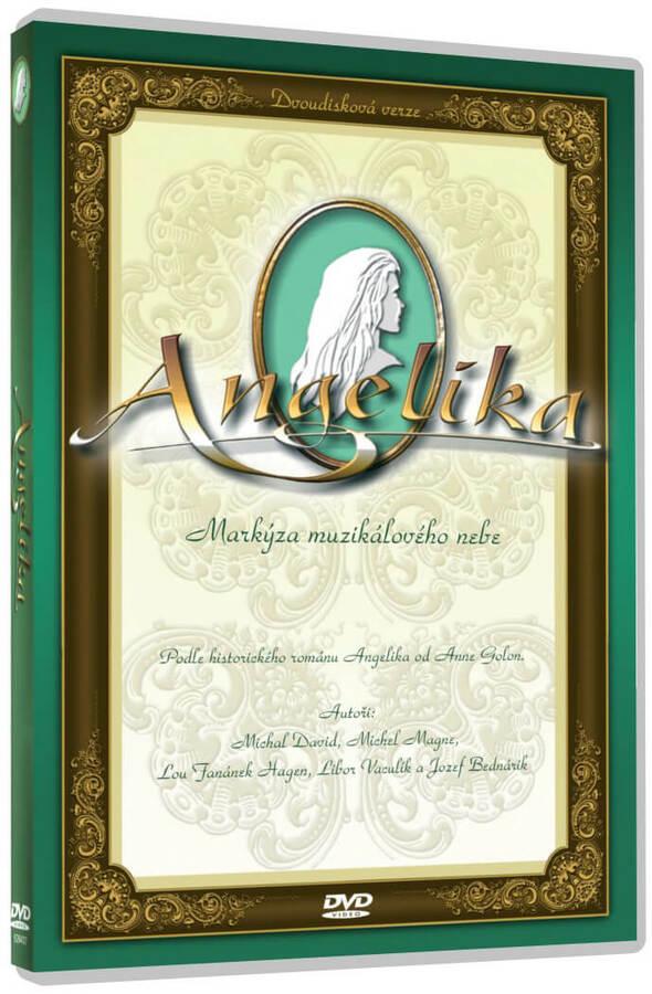 Angelika (2 DVD) - český muzikál