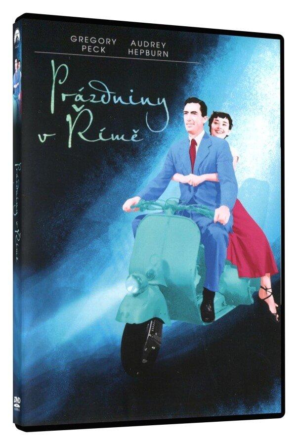 Prázdniny v Římě (DVD)