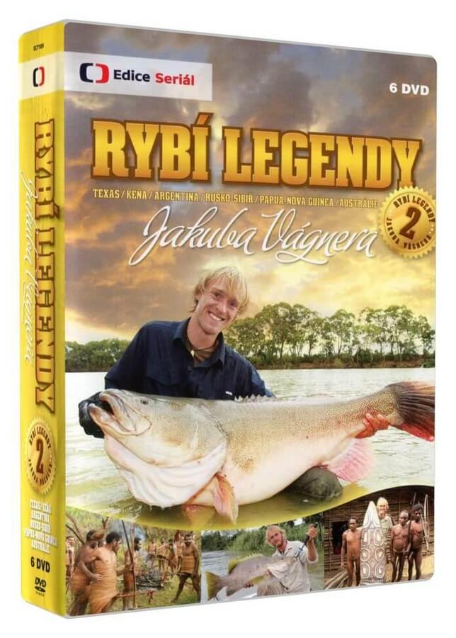 Rybí legendy Jakuba Vágnera 2 (6 DVD)