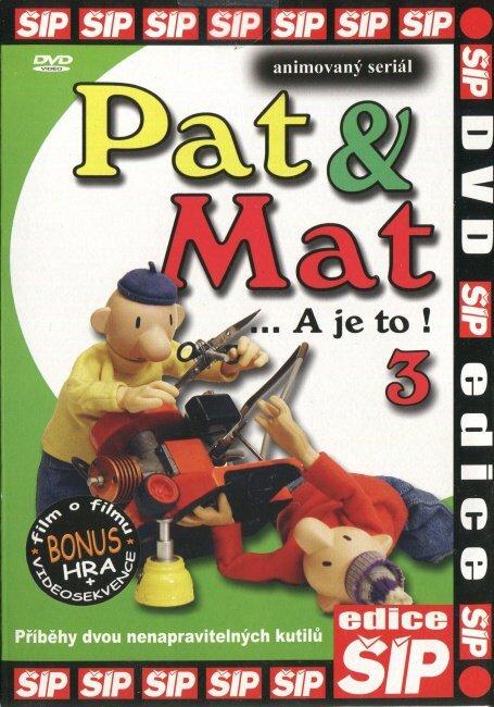 Pat a Mat 3 (DVD) (papírový obal)