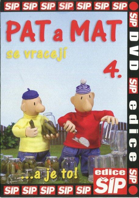 Pat a Mat 4 (DVD) (papírový obal)