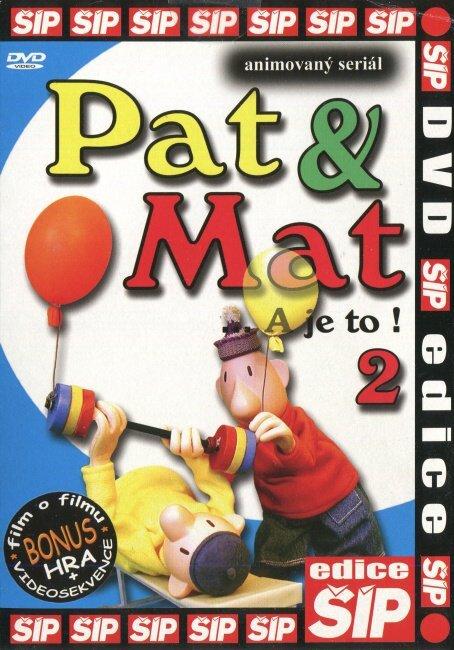 Pat a Mat 2 (DVD) (papírový obal)
