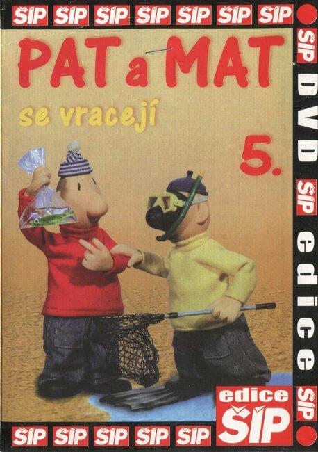 Pat a Mat 5 (DVD) (papírový obal)