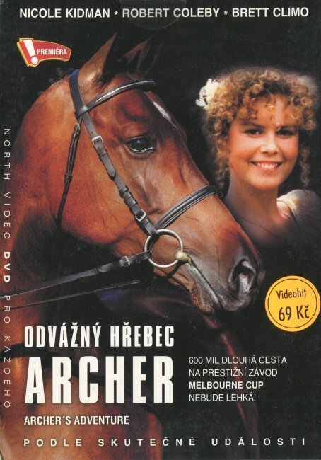 Odvážný hřebec Archer (DVD) (papírový obal)