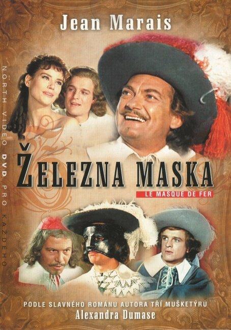 Železná maska (Jean Marais) (DVD) (papírový obal)