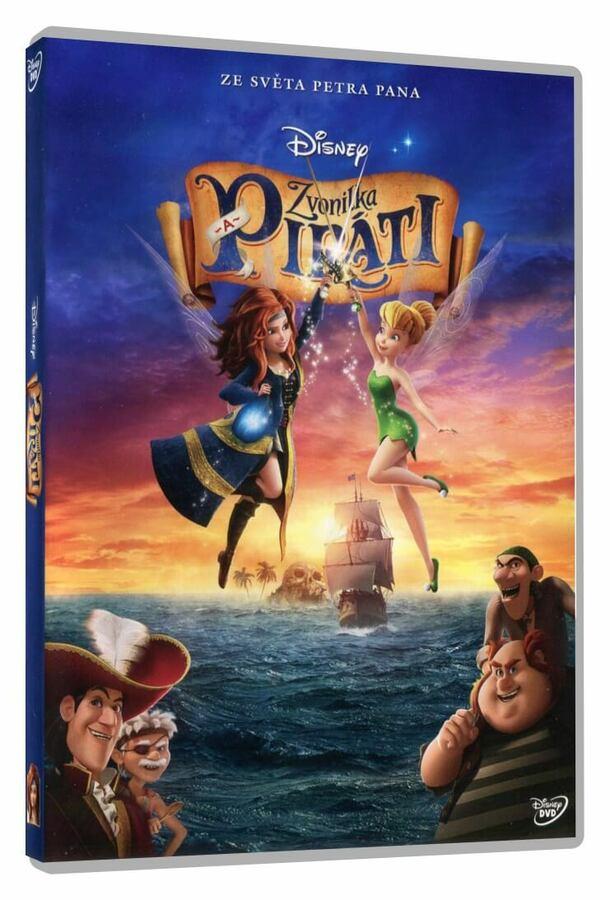 Zvonilka a piráti (DVD)