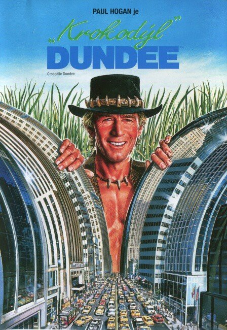 Krokodýl Dundee (DVD)