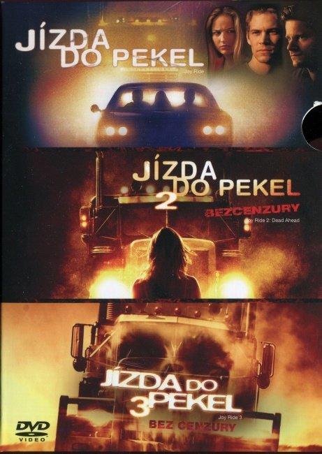 Jízda do pekel 1-3 - kolekce (3 DVD)