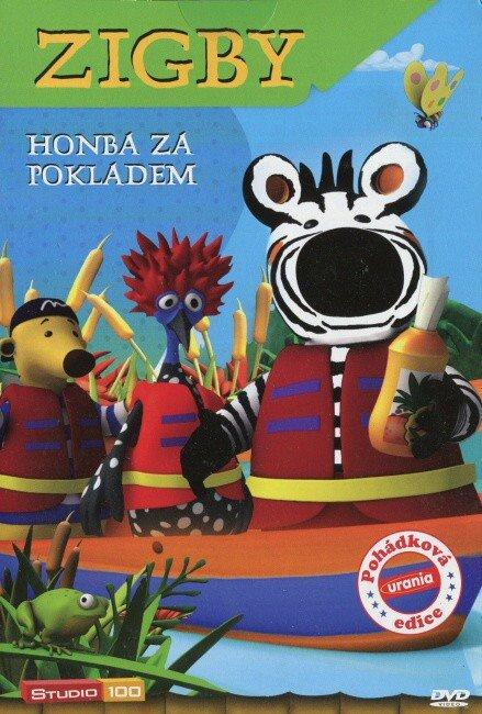 Zigby - Honba za pokladem (DVD) (papírový obal)