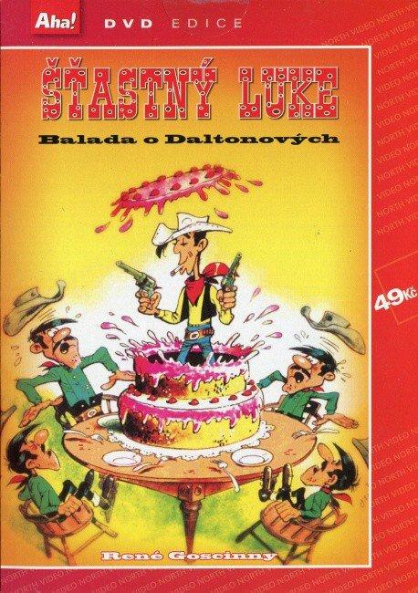 Šťastný luke - Balada o Daltonových (DVD) (papírový obal)