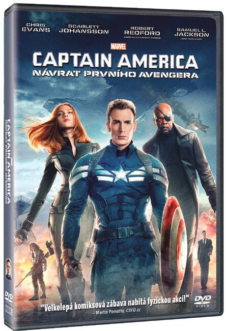 Captain America: Návrat prvního Avengera (DVD)