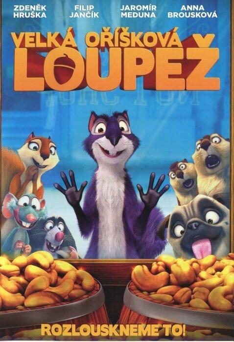 Velká oříšková loupež (DVD)