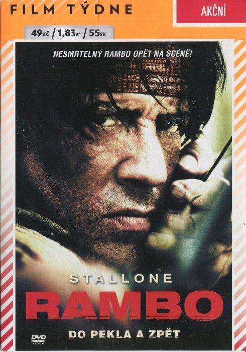 Rambo: Do pekla a zpět (DVD) (papírový obal)