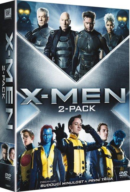X-Men kolekce (X-Men - První třída a Budoucí minulost) - 2xDVD