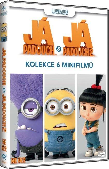 Já, padouch: kolekce 6 minifilmů (DVD)