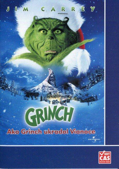 Grinch (DVD) (papírový obal)