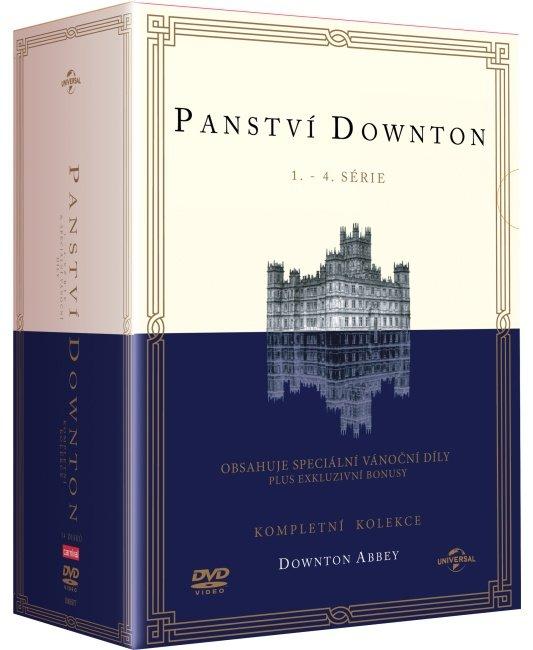 Panství Downton 1-4 (tv seriál) (DVD)