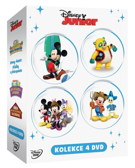 Disney Junior kolekce - 4xDVD