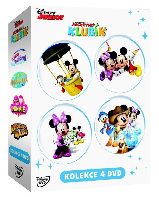 Mickeyho klubík kolekce - 4xDVD