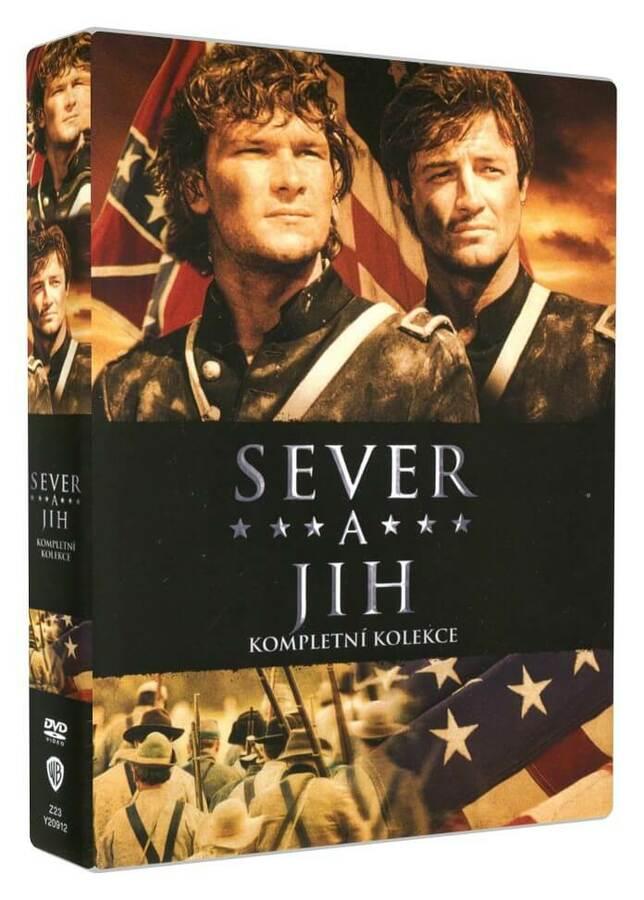 Sever a jih 1.-3. - kolekce - 8xDVD (kompletní TV seriál)