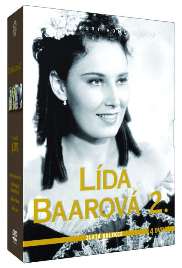 Lída Baarová 2 - kolekce - 4xDVD