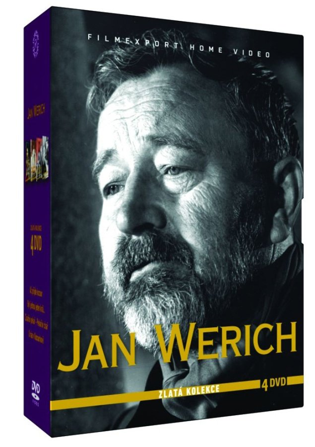 Jan Werich - kolekce - 4xDVD
