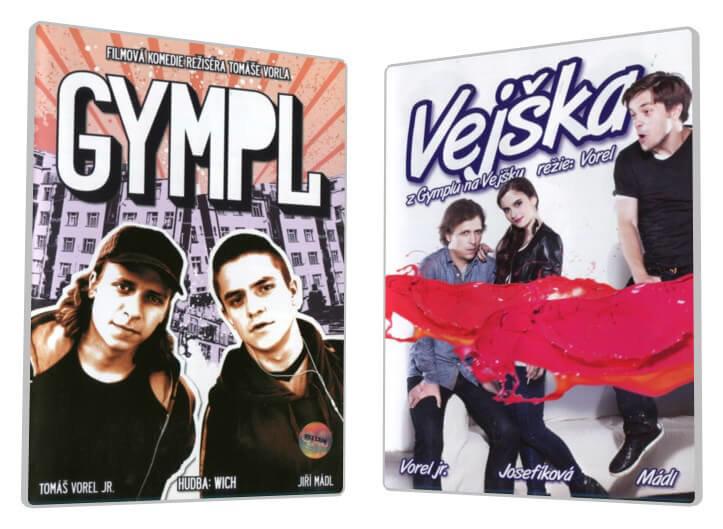 GYMPL + Vejška - kolekce (2 DVD)