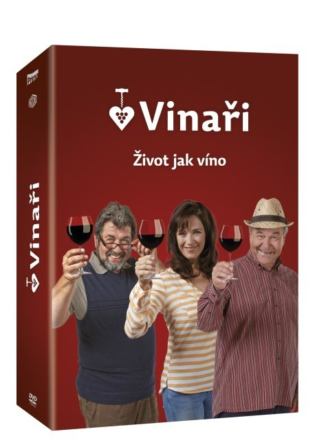 [DVD] Vinaři 1. série (2014)