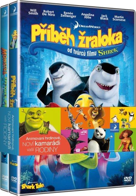 Příběh žraloka + Monstra vs. Vetřelci - kolekce (2xDVD)