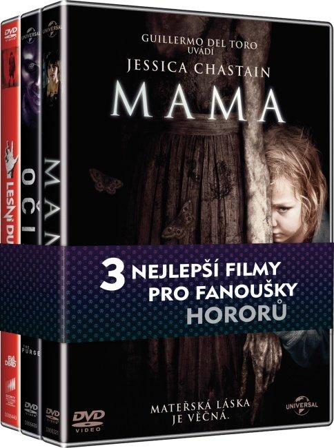 Kolekce Horory (Mama, Očista, Lesní duch) - 3 DVD