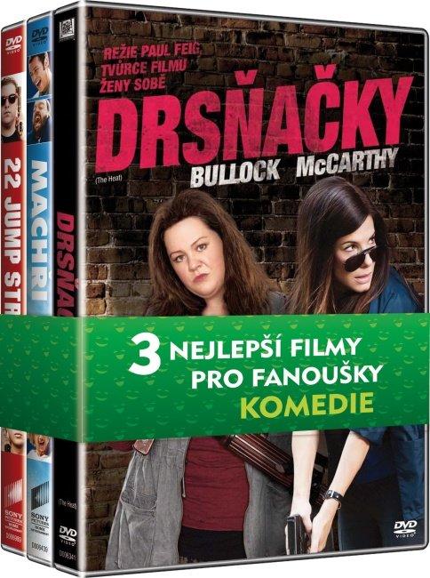 Kolekce Komedie (Drsňačky, Machři 2, 21 Jump street) - 3 DVD