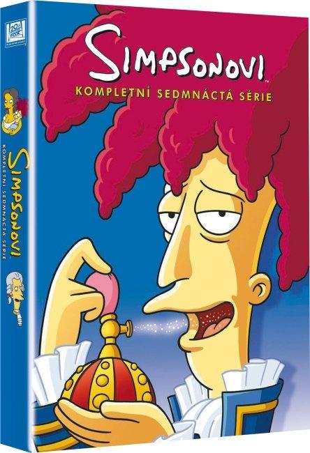 Simpsonovi 17. sezóna - 4xDVD (22 dílů)
