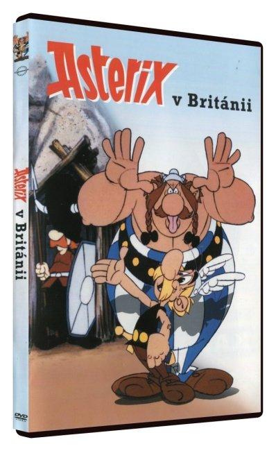 Asterix v Británii (DVD)