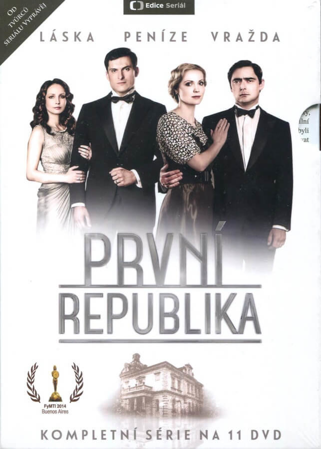 První republika - 1. série (11 DVD) - seriál Česká televize