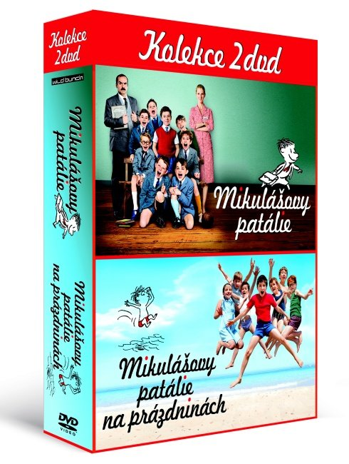 Mikulášovy patálie 1+2 (2xDVD) - kolekce