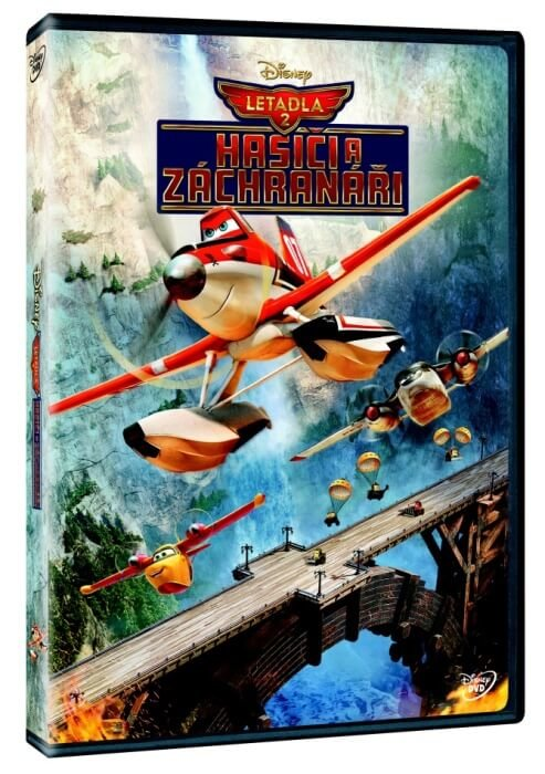 Letadla 2: Hasiči a záchranáři (DVD)