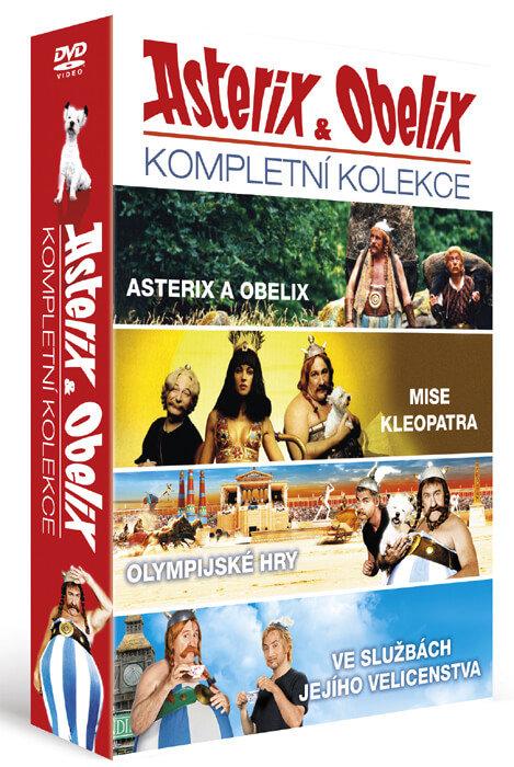 Asterix a Obelix - kompletní kolekce (4xDVD)