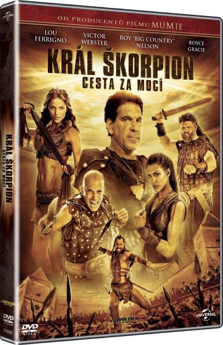 Král Škorpion: Cesta za mocí (DVD)