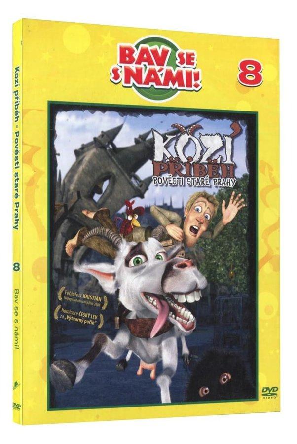 Kozí příběh - Pověsti staré Prahy (DVD) - digipack