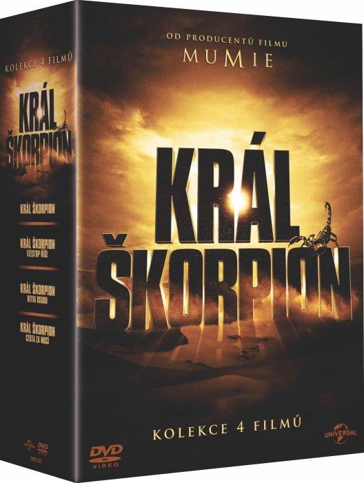 Král Škorpion - kolekce (4 DVD)