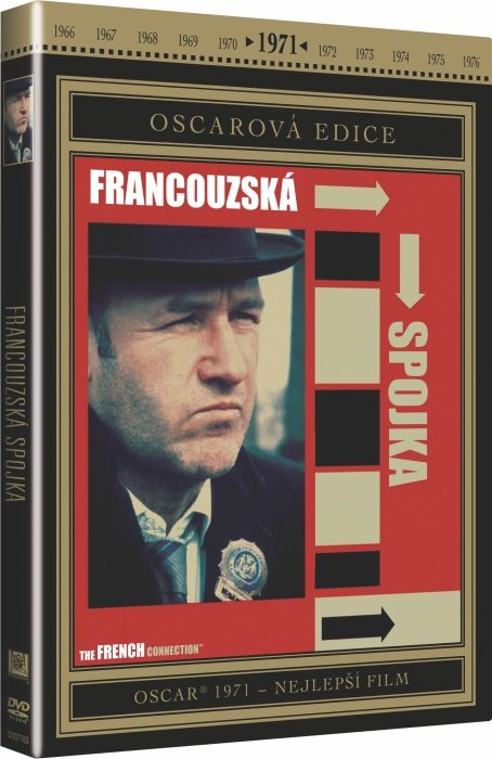 Francouzská spojka (DVD) - Oscarová edice