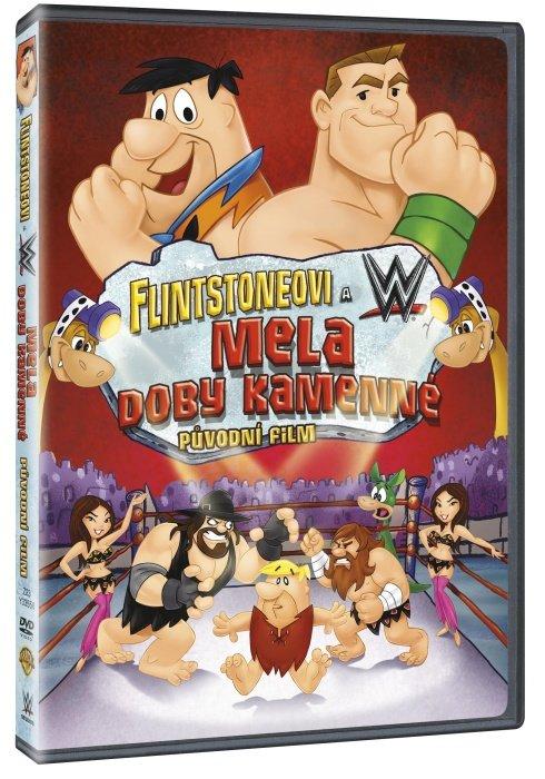 Flintstoneovi & WWE: Mela doby kamenné (DVD)