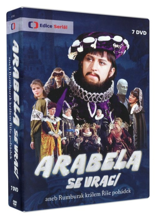 Arabela se vrací aneb Rumburak králem Říše pohádek (7xDVD)