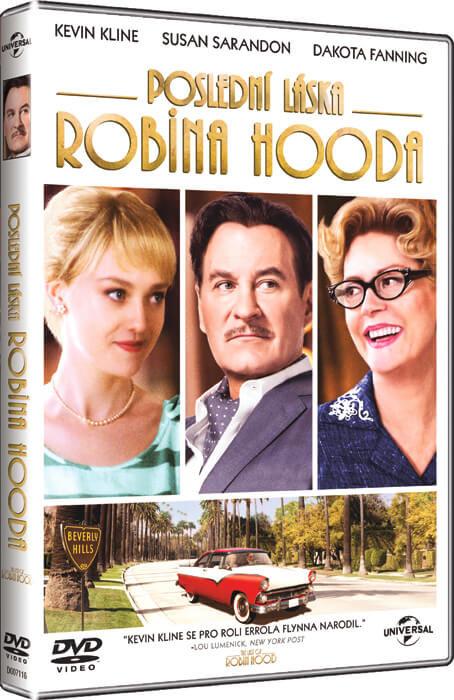 Poslední láska Robina Hooda (DVD)