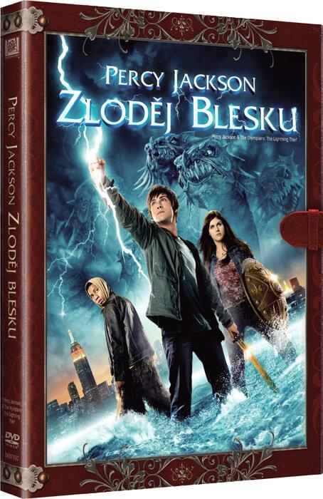 Percy Jackson: Zloděj blesku (DVD) - KNIŽNÍ EDICE